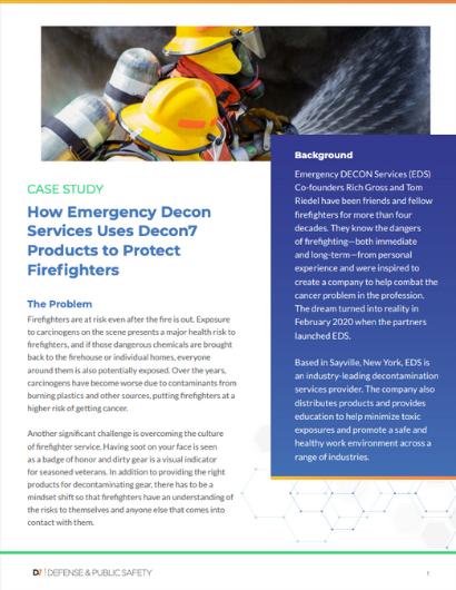 Reducing Carcinogen Exposures for Firefighters