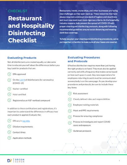 RHD Checklist page 1 thumb