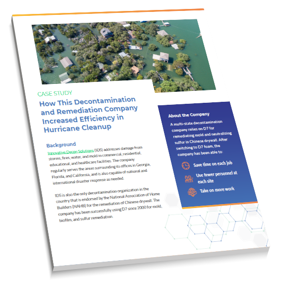 Case Study: How This Chemical Decontamination and Remediation Company Increased Efficiency in Hurricane Cleanup